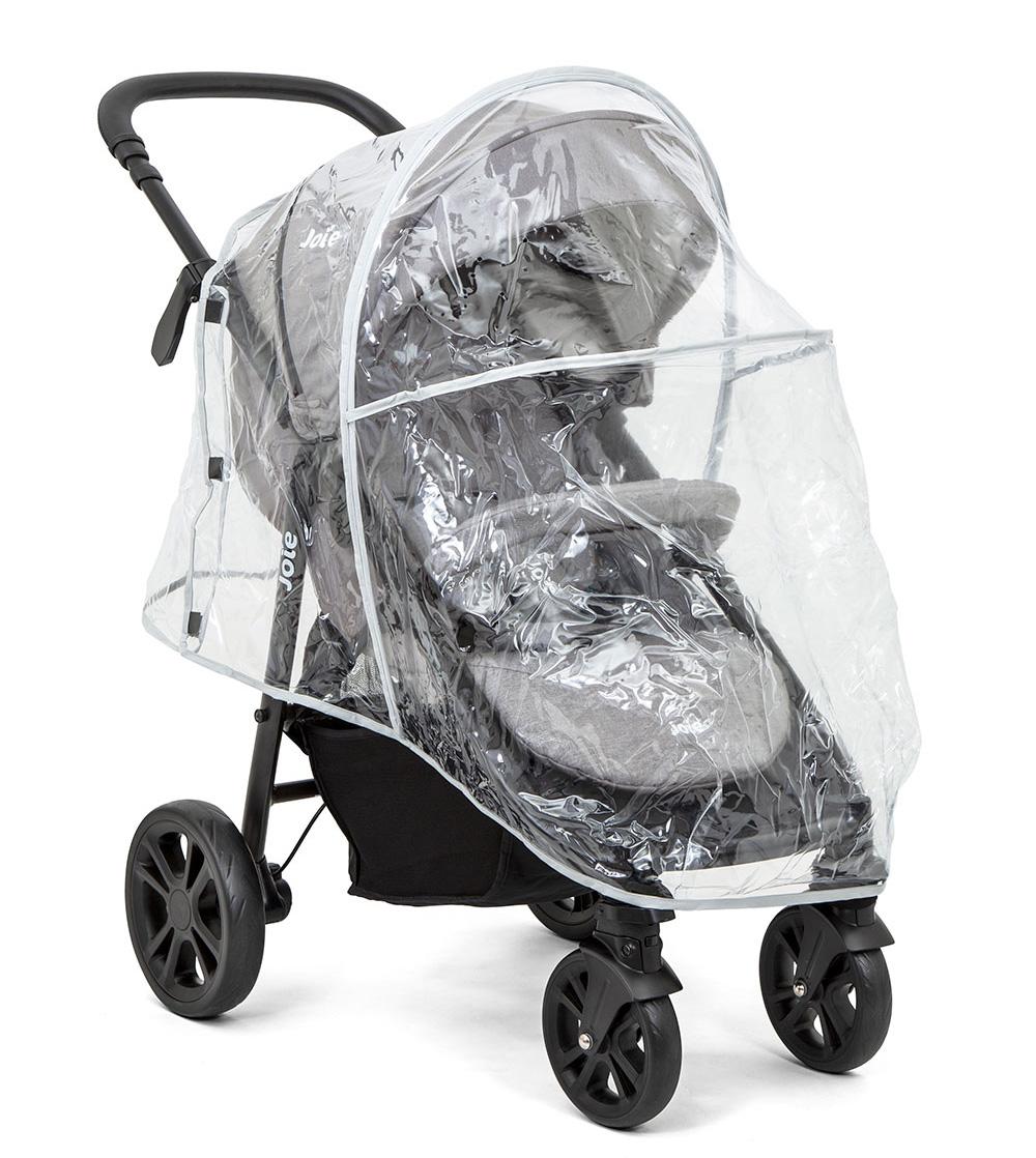 Xe đẩy trẻ em Joie Litetrax 4 DLX W/ RC Gray Flannel