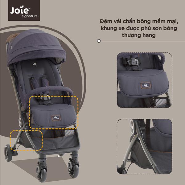 Xe đẩy trẻ em joie Pact™ Flex Signature Granit Bleu