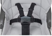 Xe đẩy Combi Mechacal Handy 4 bánh tự động xanh denim