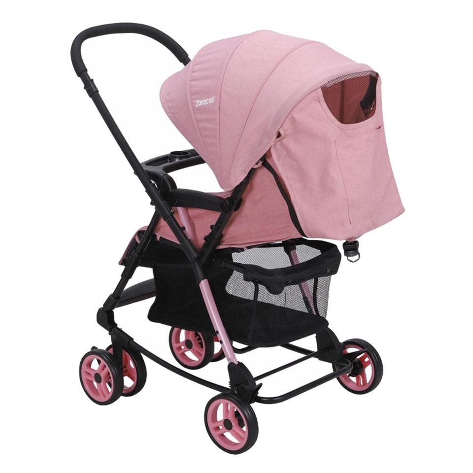 Xe đẩy em bé Zaracos Gobi 6016 Pink - Màu Pink Hồng