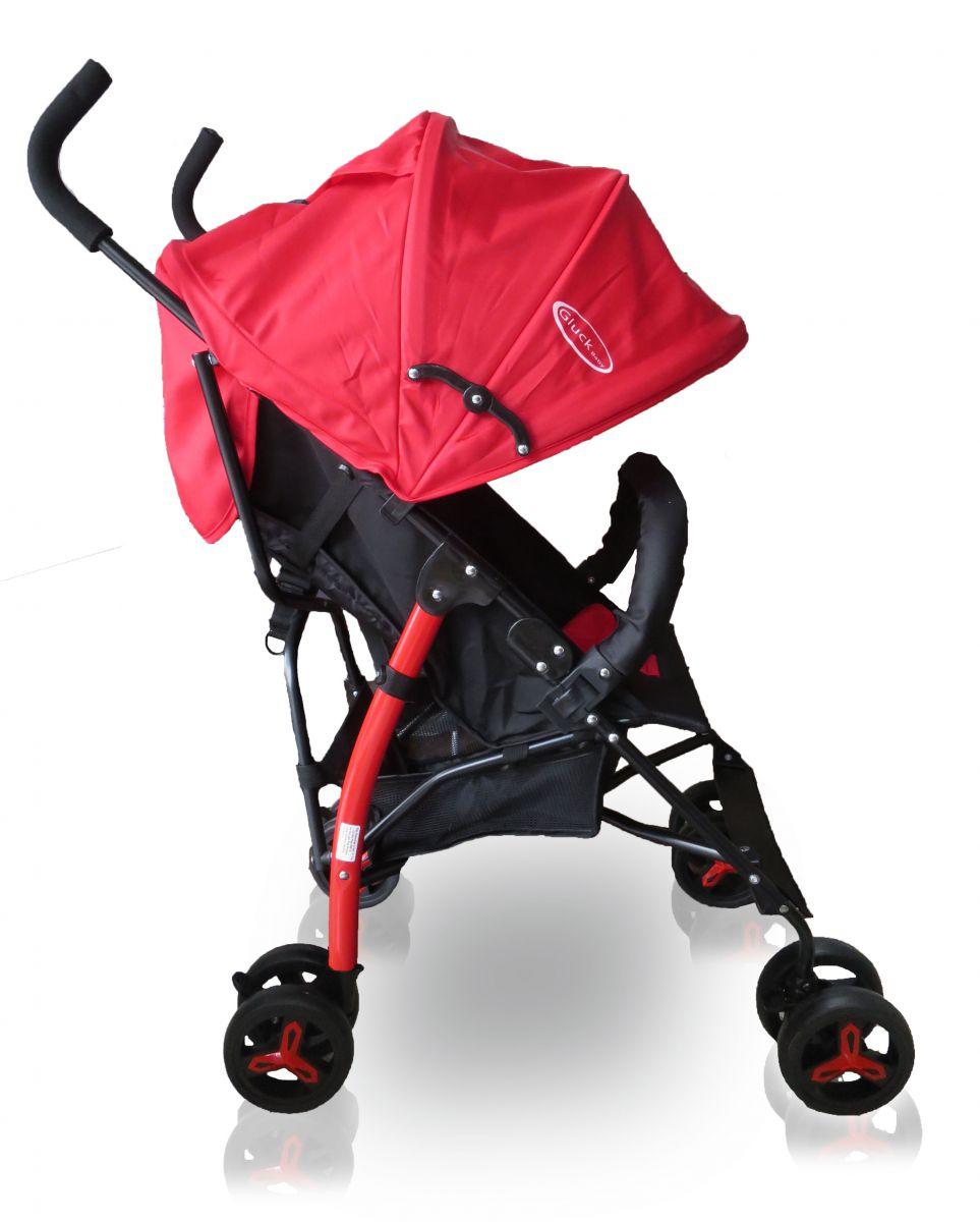 Xe đẩy du lịch Gluck Baby US300 Màu Đỏ
