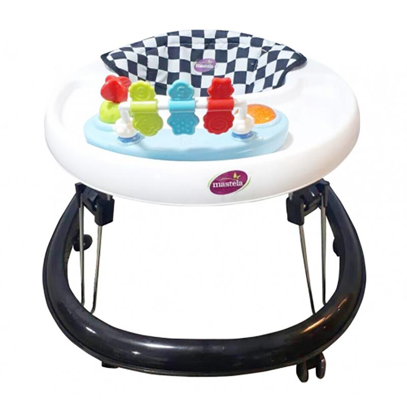 Xe tập đi có đồ chơi Mastela W2002 - Màu nâu