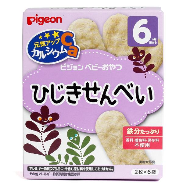 Bánh ăn dặm cho bé Pigeon vị Tảo biển 25g