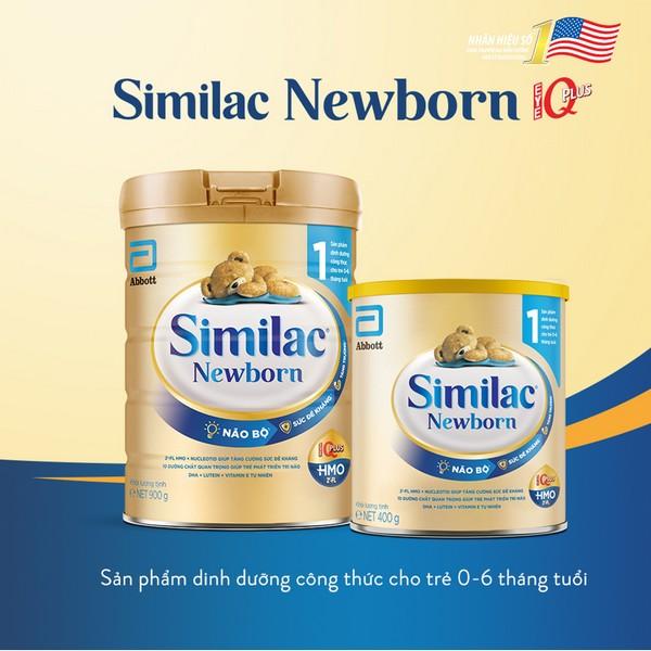 Sữa Similac Newborn Eye-Q 900g (0 - 6 tháng)
